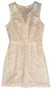 Banana Republic Summer Summer Cocktail Tan Creme A Line Dress