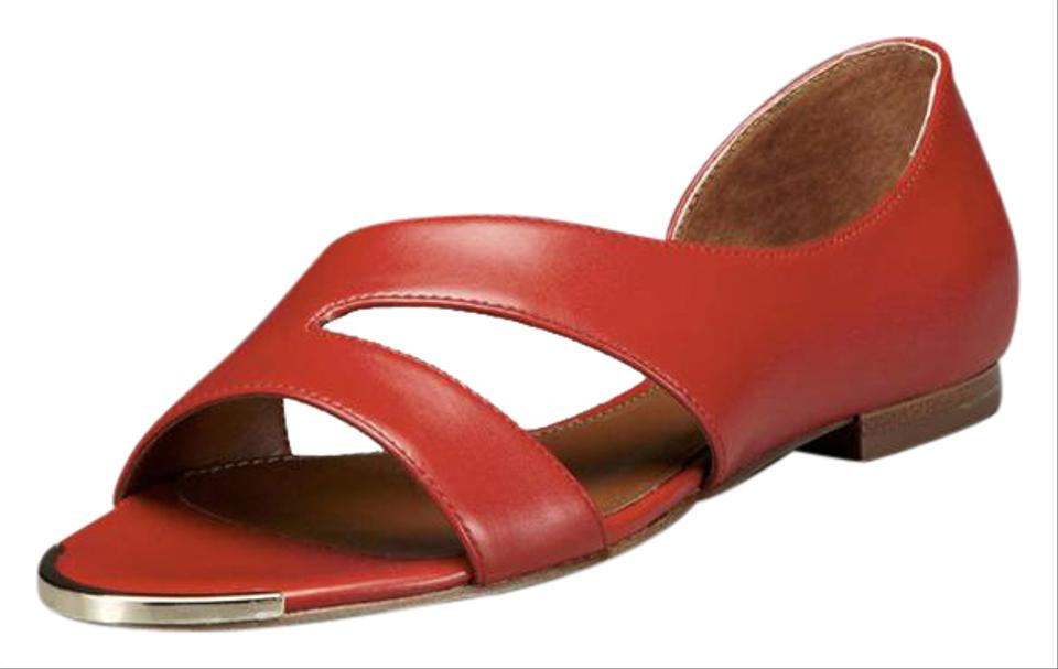 Boutique 9 Red Flats Bookling 3 Sandal Flats Red 0cd1f7