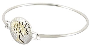 Silvertone / Goldtone Tree of Life Bracelet NEW