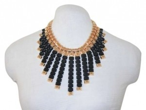Other Brand New Fashion Necklace #2 (BLK/GLD)