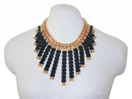 Preload https://item5.tradesy.com/images/black-fashion-blkgld-necklace-159659-0-0.jpg?width=440&height=440