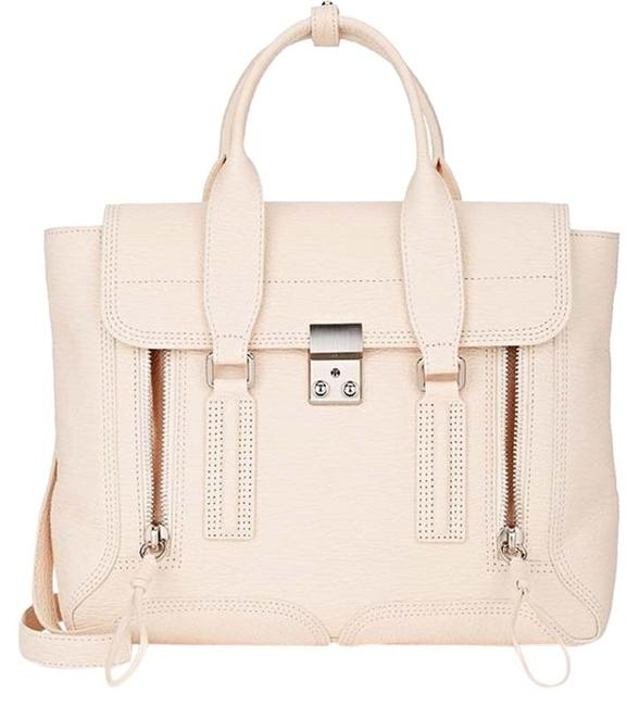 Item - New Pashli Medium Cream Beige Leather Satchel