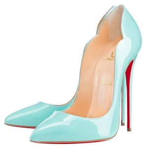Christian louboutin hot chick pumps up to 70 off at tradesy christian louboutin tiffany blue pumps junglespirit Images