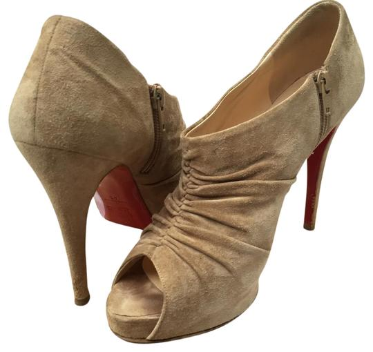Preload https://item2.tradesy.com/images/christian-louboutin-beige-suede-treopli-bootsbooties-size-us-10-regular-m-b-15966661-0-1.jpg?width=440&height=440