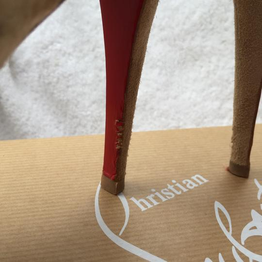 Christian Louboutin Beige Boots