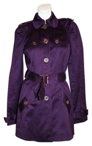 Juicy Couture New With Tags Trenchcoat PURPLE Jacket