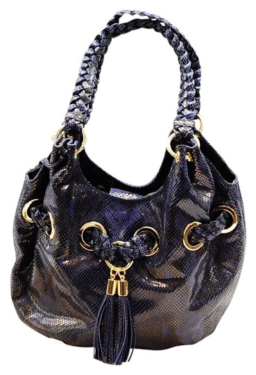 Preload https://img-static.tradesy.com/item/15966679/michael-kors-new-grommet-shoulder-lapis-python-blue-leather-hobo-bag-0-2-540-540.jpg