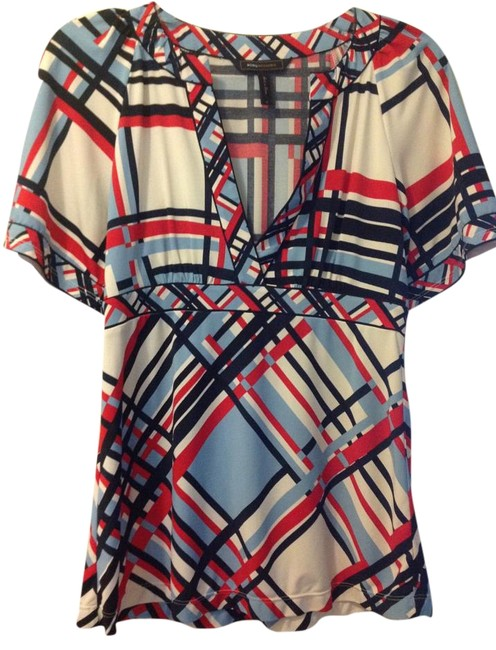 Preload https://item5.tradesy.com/images/bcbgmaxazria-multicolor-blouse-size-4-s-15966739-0-1.jpg?width=400&height=650