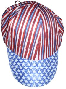 Patriotic So cute Stars & Stripes July Fourth Memorial Day Patriotic USA red white blue baseball cap hat
