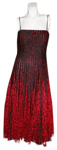 JS Collections JS Collections Women's Dress EVENING COLLECTION Spaghetti Straps Size 4 UK 6