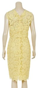 Valentino short dress Yellow on Tradesy