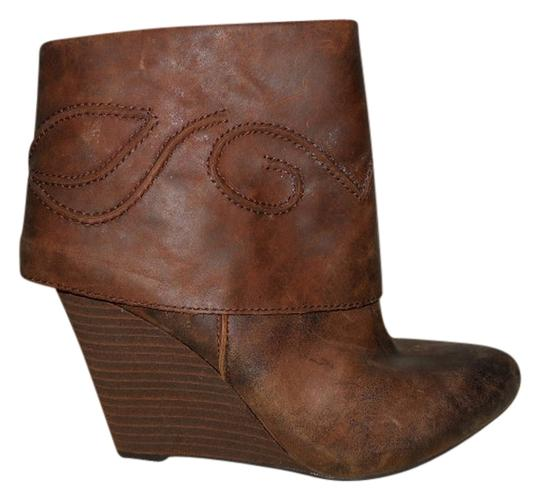 Carlos by Carlos Santana Leather brown Boots