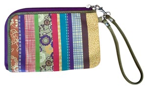 Fossil Leather Print Wristlet in Multi