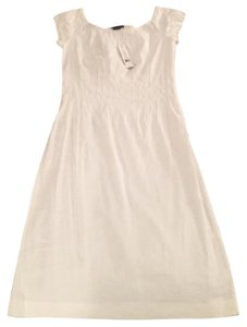 Theory short dress White Cotton on Tradesy