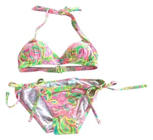 Lilly Pulitzer Bailor Bikini/Sandi String Bottom. All Nighter Mini