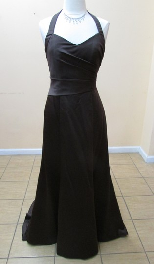 Preload https://img-static.tradesy.com/item/159694/alfred-angelo-espresso-satin-7142-formal-bridesmaidmob-dress-size-10-m-0-2-540-540.jpg