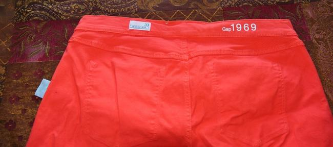 Gap Red Orange Legging Skinny Jeans