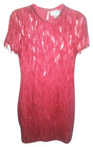 A.J. Bari Vintage Sequin Classic Dress