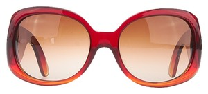 Chanel Chanel Women's Red Ombre Plastic Sunglasses 5167 (26385)