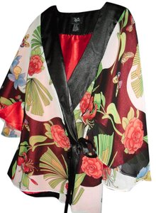 fashionista Top floral red