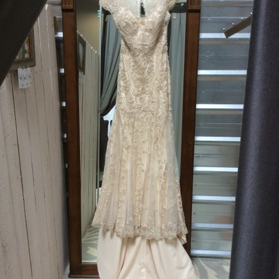 Maggie sottero tuscany 4mk792 wedding dress on sale 54 for Wedding dress resale st louis