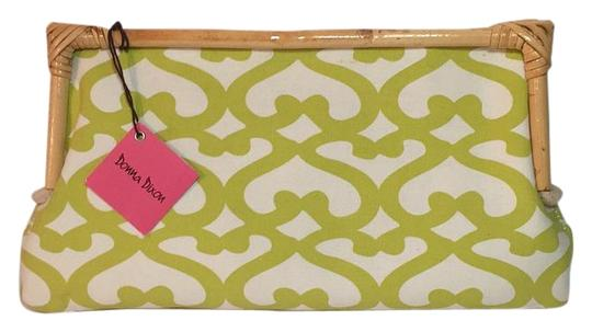 Preload https://item5.tradesy.com/images/donna-dixon-yel-bamboo-and-canvas-clutch-15970789-0-1.jpg?width=440&height=440