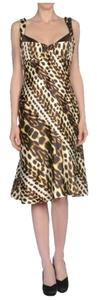 Roberto Cavalli Leopard Just Dress