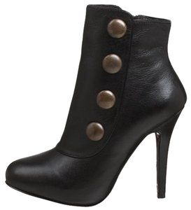 Steve Madden Leather Bootie Boot Black Boots