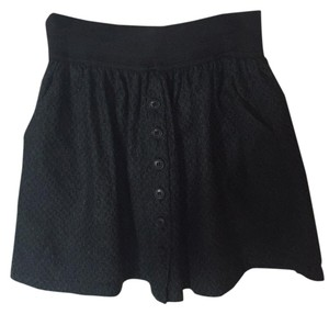 Brandy Melville Mini Skirt Black and dark green