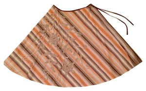 Beth Bowley Skirt Oranges, browns & cream