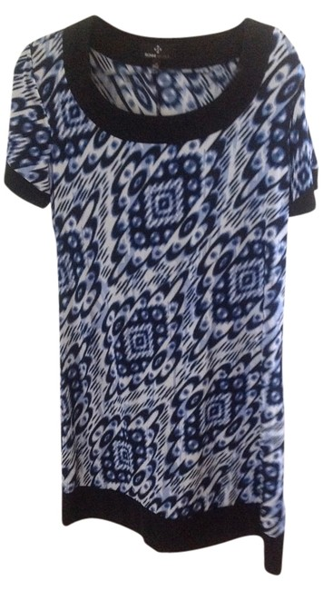 Preload https://item4.tradesy.com/images/ronni-nicole-multicolor-print-shift-knee-length-short-casual-dress-size-12-l-15971548-0-4.jpg?width=400&height=650