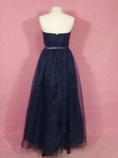 Alfred Angelo Navy/Lilac 7181 Dress
