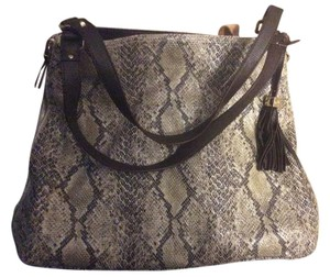 Stella & Dot Discontinued Tote in Snakeskin