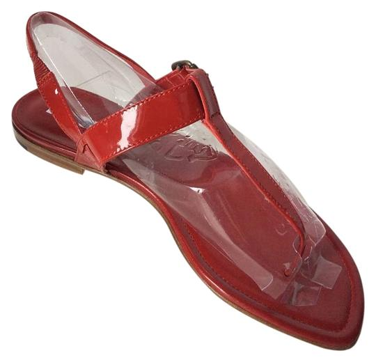 Manolo Blahnik Red Sandals