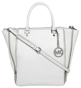 Michael Kors Newman Tote in White