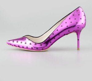 Sophia Webster Valentines Sweetheart Pink Pumps