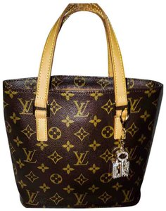 Louis Vuitton Monogram Canvas Vavin Tote in Brown