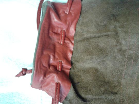 Other Wristlet in grey/brown/red