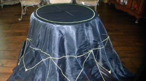 Black Table Cloth Hbt403