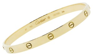Cartier Cartier 18K Yellow Gold Love Bangle Bracelet