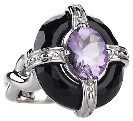 Preload https://item1.tradesy.com/images/victoria-wieck-amethyst-and-black-onyx-faceted-sterling-silver-framed-size-7-ring-15972700-0-1.jpg?width=440&height=440