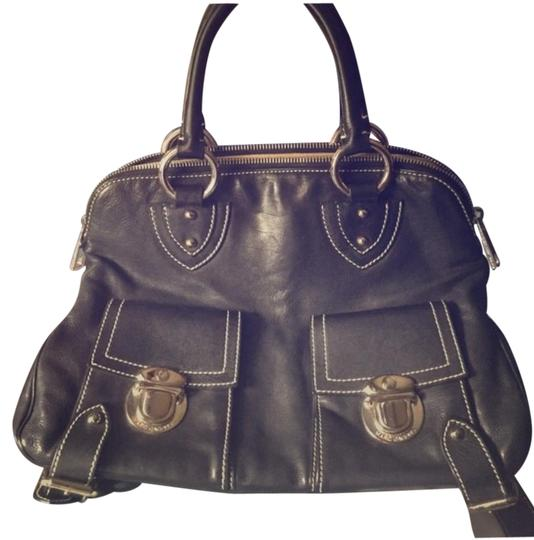Preload https://img-static.tradesy.com/item/15972844/marc-jacobs-black-leather-satchel-0-2-540-540.jpg