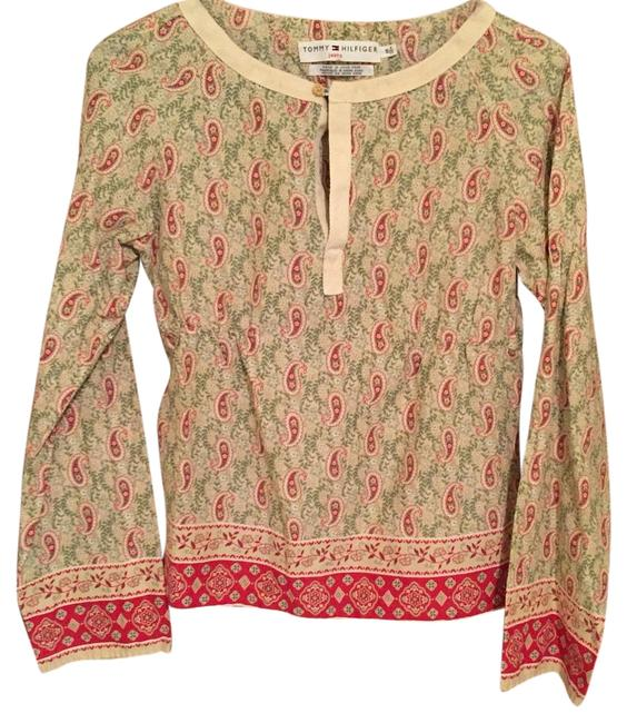 Preload https://item3.tradesy.com/images/tommy-hilfiger-multi-color-blouse-size-6-s-15973237-0-1.jpg?width=400&height=650