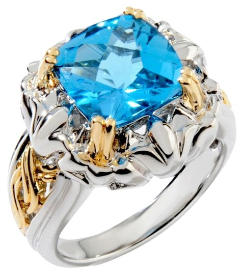 Preload https://item3.tradesy.com/images/victoria-wieck-swiss-blue-topaz-36ct-2-tone-textured-size-7-ring-15973252-0-1.jpg?width=440&height=440