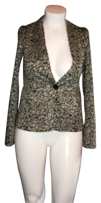 Olivia Moon BLACK GRAY Blazer