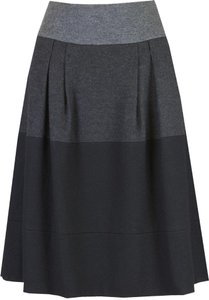 Vince Skirt Black/Grey