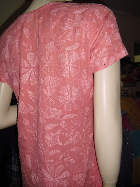 fashionista short dress ombre salmon orange on Tradesy
