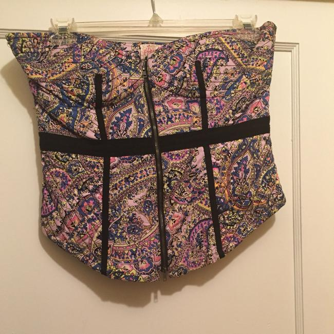 Plenty by Tracy Reese Top Paisly Multi