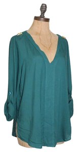 Velvet Heart Top GREEN