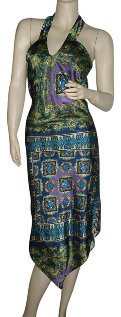 Preload https://img-static.tradesy.com/item/15974665/blue-green-purple-bohemian-paisley-unique-bodycon-hippie-gypsy-high-low-casual-maxi-dress-size-8-m-0-1-650-650.jpg
